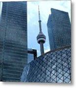 Toronto Soaring Metal Print