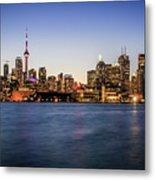 Toronto Sundown Metal Print