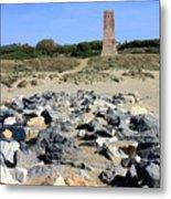 Torre De Los Ladrones At Cabopino Metal Print