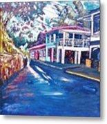 Tortola  Main Street Metal Print