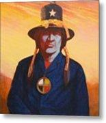 Tosh-a-wah,peneteka Comanche Chief Metal Print