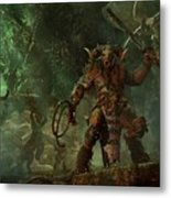 Total War Warhammer Metal Print