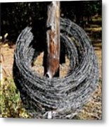 Totally Wired Metal Print