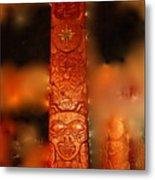 Totem For House Of Human Beings Metal Print