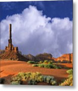 Totem Pole Monument Valley Metal Print