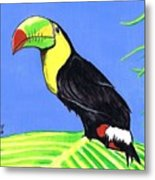 Toucan Bird Metal Print