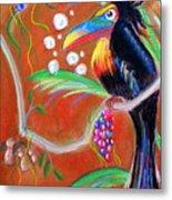 Toucanwine Bird Metal Print