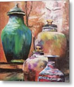 Touch Of Tuscan Metal Print