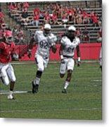 Rutgers Touchdown - Janarion Grant Metal Print