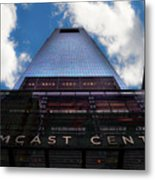 Touching The Sky - Comcast Center Metal Print
