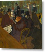 Toulouse-lautrec Moulin Rouge Metal Print