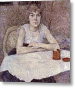 Toulouse-lautrec: Powder Metal Print