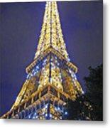 Tour Eiffel 2007 Metal Print