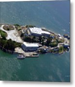 Tour Of Alcatraz Metal Print