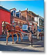 Touring The French Quarter Metal Print