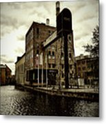 Tourist Office Norrkoping In Old Effect Metal Print