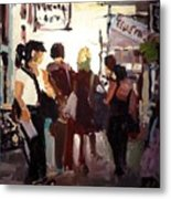 Tourists Metal Print