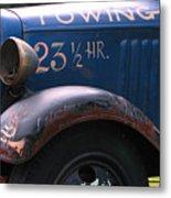 Tow Truck- 4 Metal Print