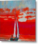 Toward Sunset I Metal Print