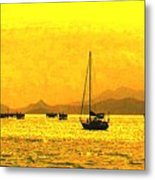 Towards Nevis Metal Print