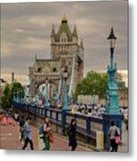 Towards Tower Bridge, London  Metal Print
