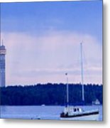 Tower And Masts Metal Print