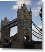 Tower Bridge London Metal Print