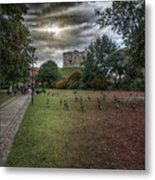 Tower Gardens Metal Print