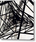 Tower Grid Metal Print