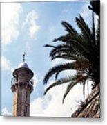 Tower In Jerusalem Metal Print