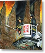 Tower Ladder 44-south Bronx Metal Print