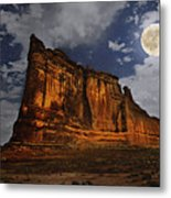 The Midnight Tower Metal Print