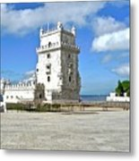 Tower of Belem Metal Print