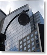 Tower Of Glass  Metal Print