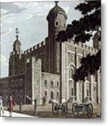 Tower Of London, 1799 Metal Print