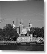 Tower Of London Riverside Metal Print by Gary Eason