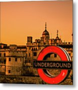 Tower Of London. Metal Print