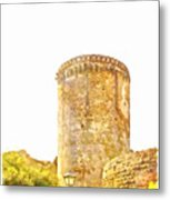 Tower Of The Castle Metal Print