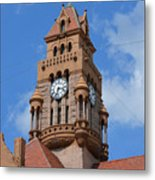 Tower Of The Decatur Courthouse  Metal Print