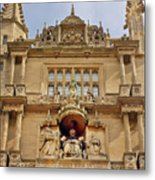 Tower Of The Five Orders Bodleian Library Oxford Metal Print