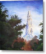 Tower Over The Grove II Metal Print
