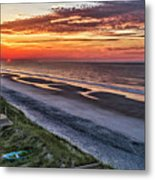 Tower Sunrise Metal Print