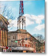Tower Theater - Upper Darby Pa Metal Print