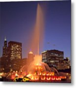 Towers And Fountains Metal Print