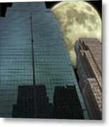 Towers To The Moon Metal Print