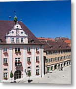 Town Hall And St. Martin Cathedral Metal Print