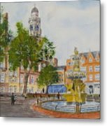 Town Hall Square Leicester Metal Print
