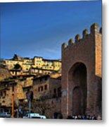 Town Of Assisi, Italy Metal Print