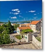 Town Of Betina Architecture And Coast Metal Print