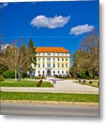 Town Of Ludbreg Square View Metal Print